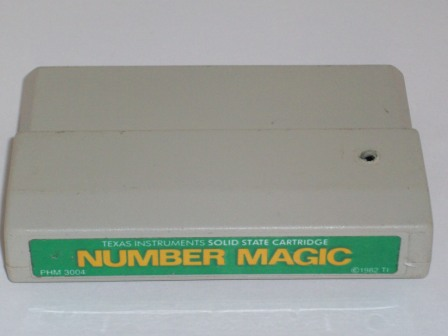 Number Magic (Color Label) - TI-99/4A Game